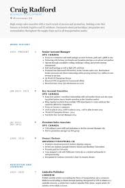 Resume Sample For Account Manager by Senior Account Manager Resume The Best Resume
