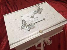 wedding keepsake box wedding keepsake box ebay