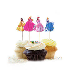 cinderella cupcake toppers cinderella cake toppers for kids
