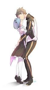 subaru anime character rem x subaru re zero re zero kara hajimeru isekai seikatsu