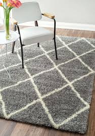 Grey Shaggy Rugs Lavish Home Gray Shag Area Rug Kathy Ireland Santa Barbara Animal