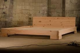 Reclaimed Wood Douglas Fir Platform Bed