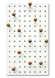 peg board peg it all pegboard wall mounted storage panel in white kreisdesign