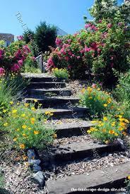 Pics Of Backyard Landscaping by Best 25 Garden Stairs Ideas On Pinterest Landscape Steps