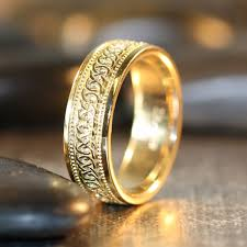 celtic mens wedding bands infinity celtic knot wedding band 14k yellow gold unique mens