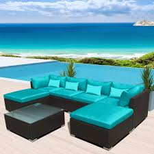 Amazon Com Patio Furniture Sets - amazon com modenzi 7c u outdoor sectional patio furniture