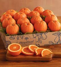 honeybell oranges citrus fruit baskets harry david