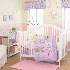 Purple Nursery Bedding Sets by Amazon Com Lulu 3 Piece Baby Crib Bedding Set By Belle Baby