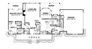house plans with open kitchen pleasant design 7 house plans with country kitchens 17 best ideas
