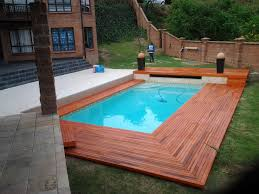 interesting small swimming pool house design performing