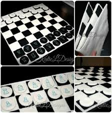 Chess Board Design Ith Full Size Chess Board With Pieces Machine Embroidery