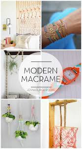 Macrame Home Decor by Mad About Modern Macrame Jenna Burger