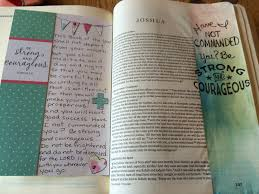 april 2017 journaling the bible