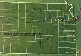 Map Of Lawrence Kansas Lawrence Massacre Battle Of Lawrence Quantrill U0027s Raiders