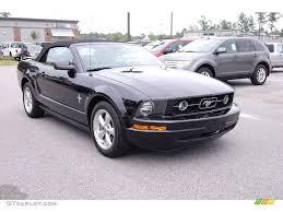 2015 Mustang V6 Black 2008 Black Ford Mustang V6 Premium Convertible 13752289