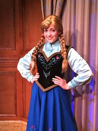anna frozen meet princess fairytale hall magic
