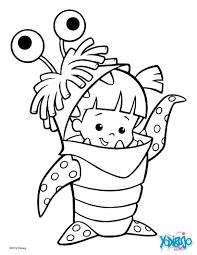 dibujos para colorear boo de monstruos s a es hellokids com