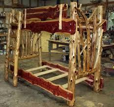 Best Log Bunk Beds Images On Pinterest  Beds Log Bed And - Log bunk beds