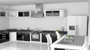 cuisine noir et blanc laqué cuisine bois et blanc laqu gallery of photos cuisine
