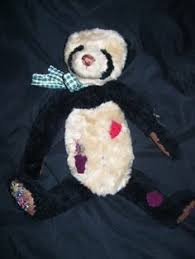 Cottage Collectibles By Ganz by Ganz Cottage Collectibles Panda Bear Patches Stuffed Used