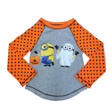 despicable me infant u0026 toddler girls orange minion ghost halloween