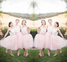 tulle skirt bridesmaid 2016 modest tulle skirts bridesmaid dresses for wedding junior