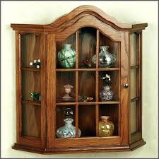Kitchen Curio Cabinet Wall Curio Cabinet Curio Cabinet Shelves Size Of Kitchen