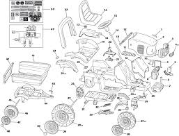 john deere power pull part diagram