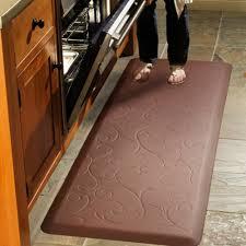 Decorative Kitchen Floor Mats by Stylish Anti Fatigue Kitchen Rugs Anti Fatigue Mat Rollmats To