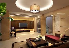 Asian Style Living Room by Decorations Round Pop Living Room Ceiling Decor With Recessed