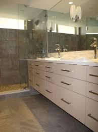 Corner Mirror Bathroom by Corner Tub Shower Combo Bathroom Contemporary With Bathroom