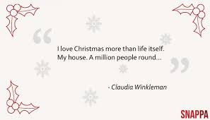 10 christmassy quotes from even if they re not all