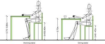 Dining Room Table Height Inspiring Standard Height For A Dining - Standard kitchen table