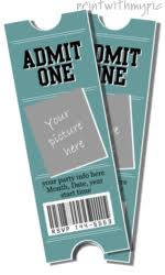 ticket template free download 23 images of graduation tickets template dotcomstand com