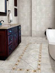 bathroom tile floor designs porcelain tile bathroom floors hgtv