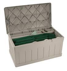 129 gallon deck box with seat suncast corporation