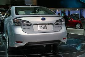 lexus hs 250h price 2015 detroit 2009 it u0027s all about green now