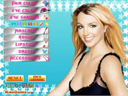 free game game britney spears make up