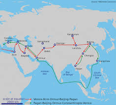 Beijing On World Map by Travel History Marco Polo The World U0027s First Great Travel Writer