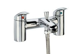 tavistock cruz deck mounted bath shower mixer tap w kit tcr42