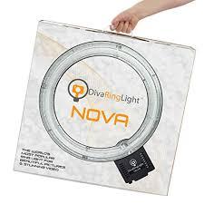 Portable Lighting For Makeup Artists Amazon Com Diva Ring Light Nova 18