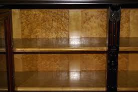 Glass Door Bookshelf Bookcase Antique Walnut Bookcase With Glass Doors Modern Shaker