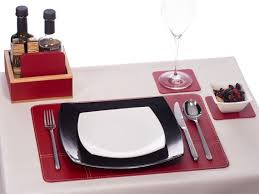 best placemats for marble table 9 best leather placemats leather table mats leather place mats