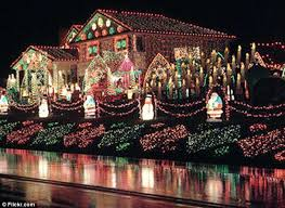 pictures of christmas lights on houses the house with one million christmas lights daily mail online