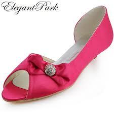 wedding shoes low heel aliexpress buy bridal wedding shoes low heels pink