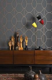 neat interior designs with grey wallpaper u2013 28 photos interior