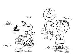 charlie brown easter coloring free printable coloring pages