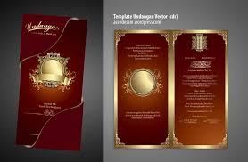 template undangan format cdr template undangan nikah v3 from acehdesain by batatx on deviantart
