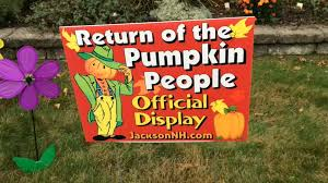 black friday home depot conway nh return of the pumpkin people local news conwaydailysun com