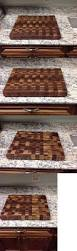 cutting boards 46282 black walnut butcher block cutting board new